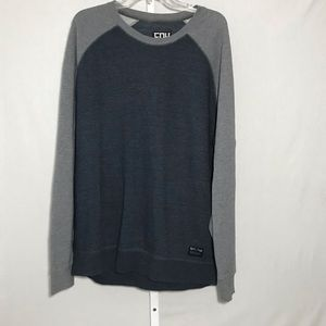 Fox Men's Slim Fit Raglan Sweatshirt Size XL